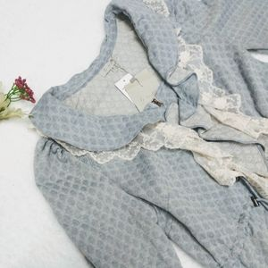 By Stella Romantic Lace full zip NWT size small